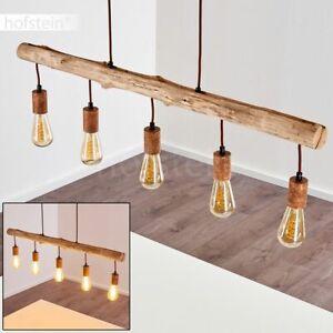 Holz Decken Lampen Hänge Pendel Leuchten Wohn Ess Schlaf Zimmer Raum Beleuchtung