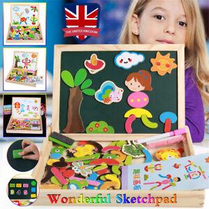 Magnetic Educational Toys Game For Girls Boys Toddler Kid ...