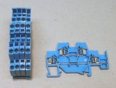 5 WAGO 224-201 Serviceklemme 400V 24A 2,5mm² Verbindungsklemme 855532