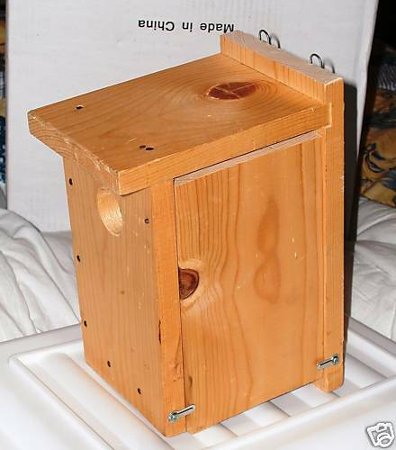 Pinepro Unfinished Wood Kit Bird House