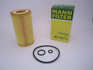 Homme-Filtre-a-huile-hu718-1k-Mercedes-Benz-w202-s202-w203-s203-w204-s204-cl203-CDI