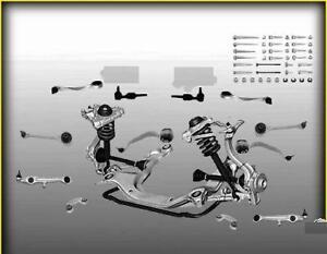 Set-bracci-oscillanti-12-pz-per-AUDI-A4-B5-e-A6-C5-VW-PASSAT-3B
