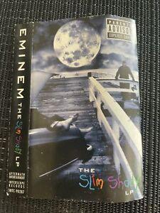 NO TAPE EMINEM THE SLIM SHADY LP CASSETTE ALBUM 1999 AFTERMATH RARE J CARD ONLY