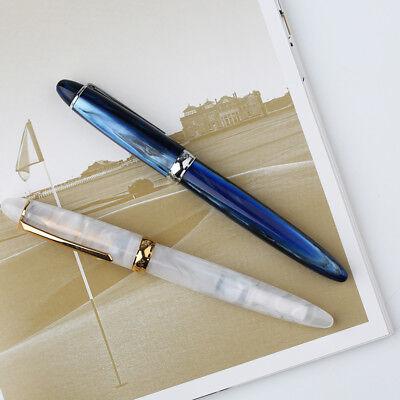 Chic PENBBS 308//266 Acrylic Fountain Pen Smooth Fine 0.5mm Nib Writing Fashion