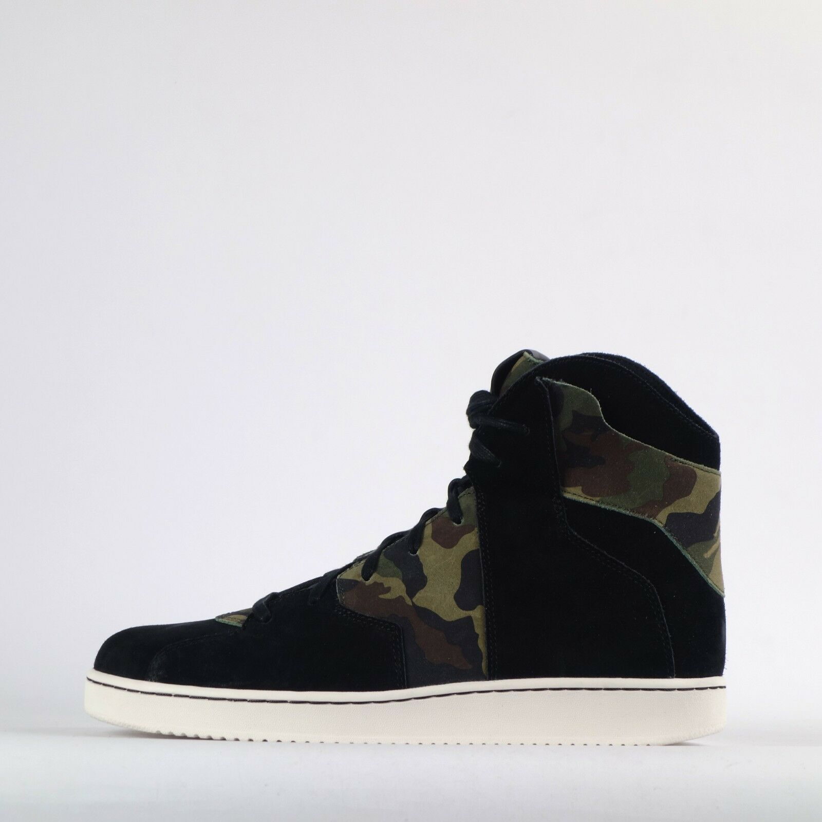 Nike Jordan Westbrook 0.2 Camo Mens Hi Top Casual Trainers Shoes Black/Sail