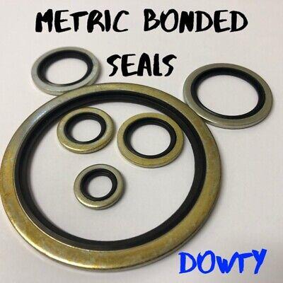 centrado automático aceite hidráulico de métrica Arandela de sello Dowty Sello de servidumbre Sellos