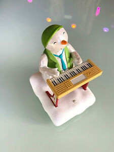 2010-Hallmark-Wireless-Snowman-Band-Keyboard-Ken-Moves-and-Plays-Christmas-Songs