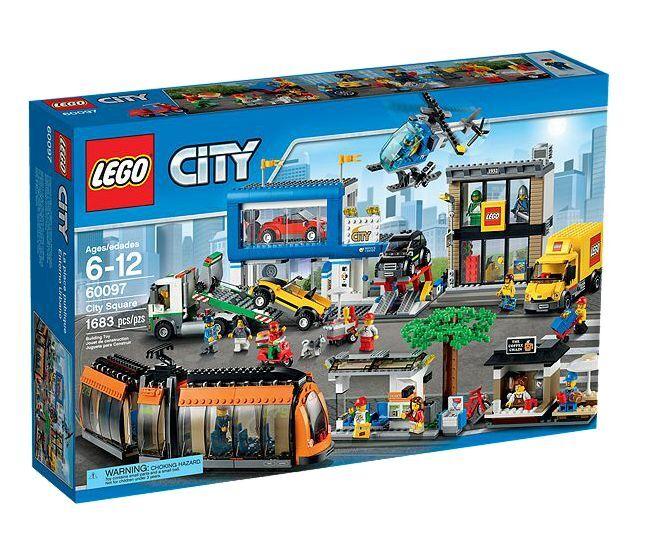 Lego ® City 60097 City Centre OVP _ City Square  nouveau MISB NRFB  magasin d'usine