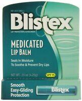 5 Pack - Blistex Medicated Lip Balm Spf 15 0.15 Oz Each on sale