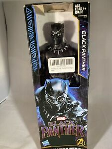 Marvel Avengers Titan Hero Series 12-inch Black Panther Action Figure-Hasbro BL