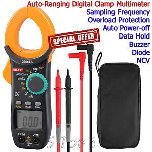 Digital-Clamp-Meter-Tester-AC-DC-Volt-Amp-Multimeter-Auto-Ranging-Current-600V