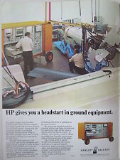 8/73 PUB HEWLETT PACKARD HP 9500 AUTOMATIC TEST SYSTEMS RPV DRONE AVIONICS  AD