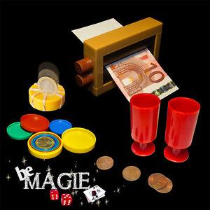 Lot 3 tours de magie - thème de l'argent - Imprimante à billets ... - Magie