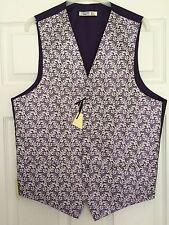 BHS Mens Wedding Waistcoat Purple/Grape Chest 38 40 42 44 BNWT
