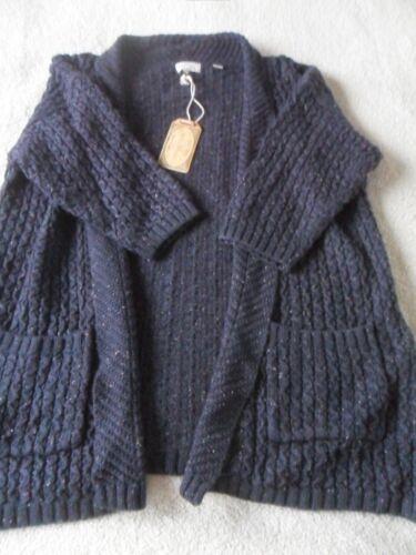 Hepburn maglia medio in acrilico 8 taglio in aperto a misto a Cardigan 12 Hepburn maglia media 10 q4xOpO