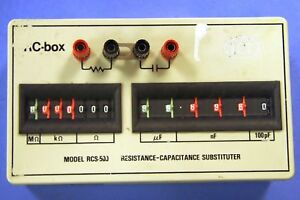1-Used-RC-Box-RCS-500-Resistance-Capacitance-Substituter