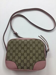 Image Is Loading Gucci Disco Soho Bag Guccissima Bree Sac Pink