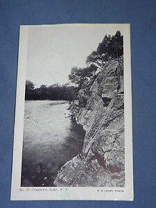 VINTAGE EARLY 1900S CRANBERRY LAKE NEW JERSEY   POSTCARD
