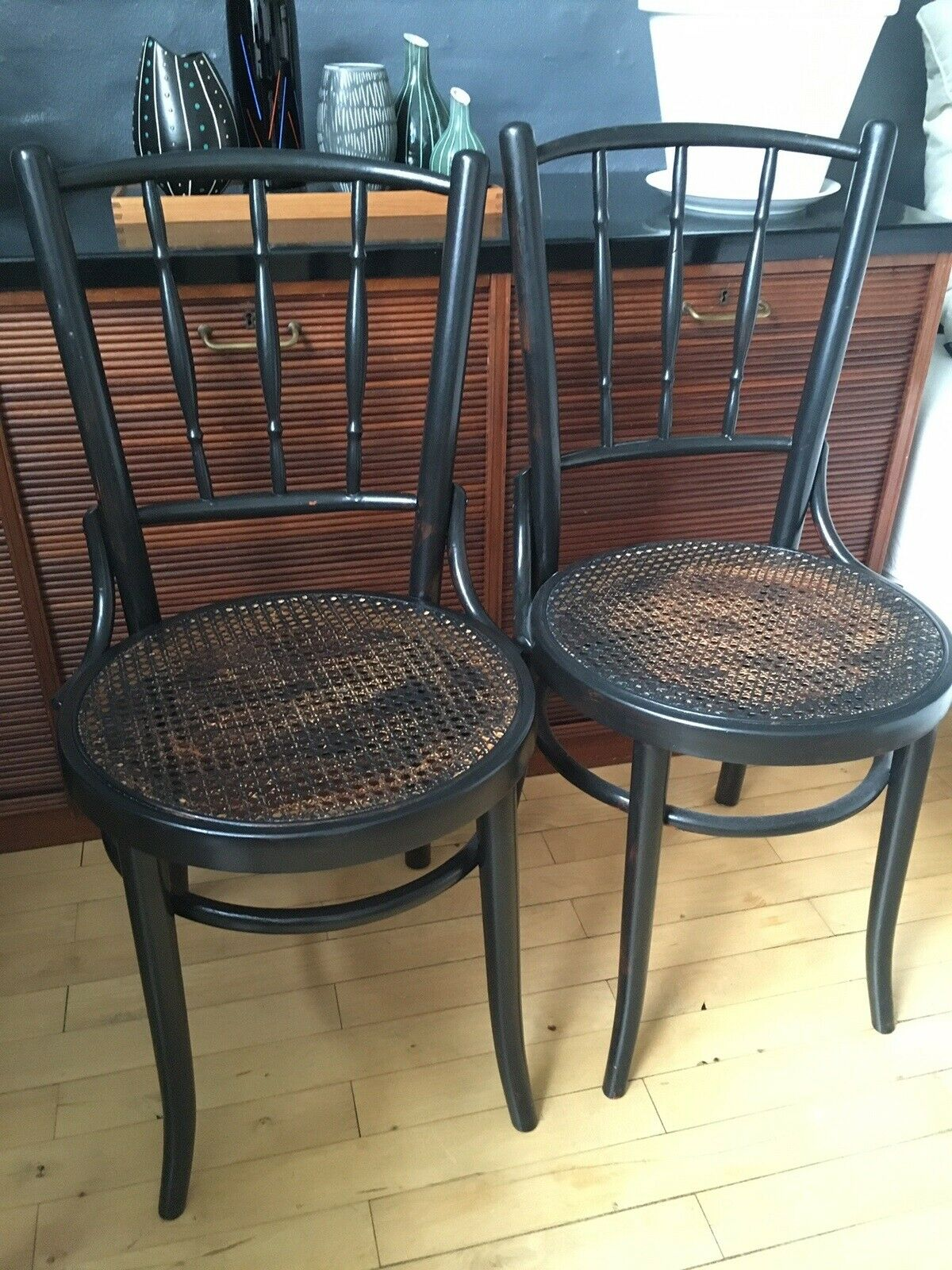 Spisebordsstol, Træ, fransk