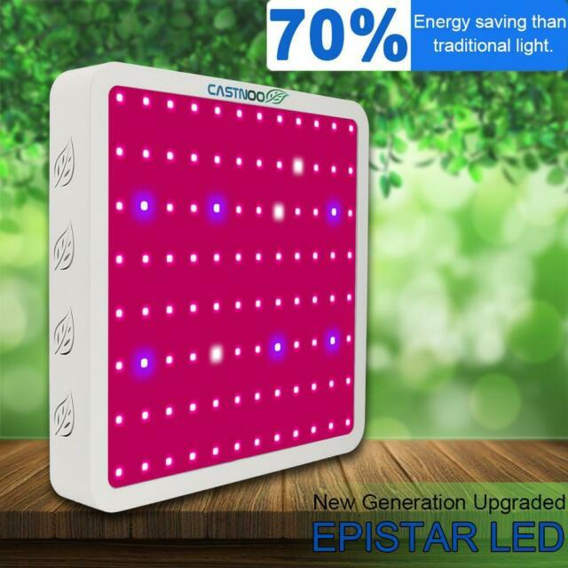CASTNOO 1000W LED Grow Light Panel Lamp Hydroponic Plant Growing Full Spectrum Z