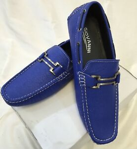 6225c3f53b2 Image is loading MENS-GIOVANNI-SHOES-Loafer-Fashion-Italian-Casual-Slip-