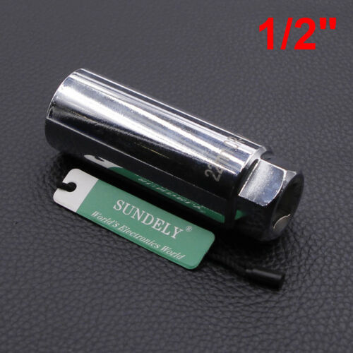 "Silver Lambda Remover Hand Tool O2 Sensor Socket 22mm 1//2/""Sq Drive 8mm Slot"