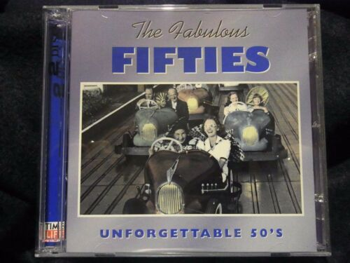 1 of 1 - Fabulous Fifties - Unforgettable 50's, Various Artists (2 x CD's, Time Life) b3