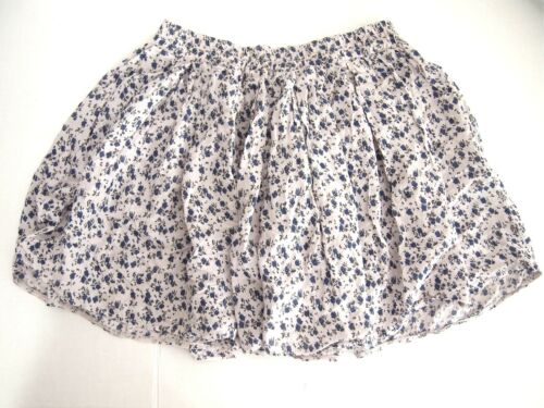 Floral Eagle line Waist Skirt American Womens Made A Italy One Mini Elastic Size qXn4xZwBS