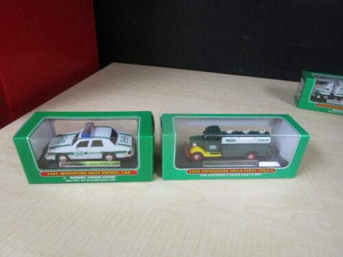 2000 2003  Hess Mini Truck Set 2 Trucks  NEW