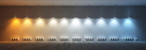 100W Slim LED Security Floodlight Daylight White 6400K V-TAC Flood Light Samsung