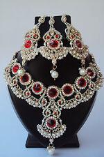 Designer Ethnic Indian Bollywood Bridal Wedding Jewelry Necklace Set