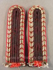 94275 Feuerwehr, Paar Schulterstücke für Truppmänner der Feuerschutzpolizei 1939