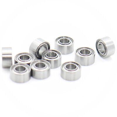 """Lot 10 Bearings R133ZZ 3//32/""""x 3//16/""""x 3//32/"""" Shielded"""