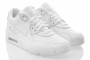 Details zu Neu Schuhe NIKE AIR MAX 90 LTR GS Damen Sneaker Turnschuhe Leder ORIGINAL SALE
