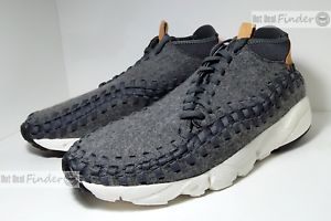 NEW 2016 NIKE AIR FOOTSCAPE WOVEN CHUKKA SE = SIZE 10.5 = MEN'S SHOES 857874-002