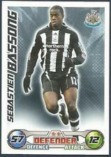 TOPPS MATCH ATTAX 2008-09-NEWCASTLE UNITED & CAMEROON-SEBASTIEN BASSONG