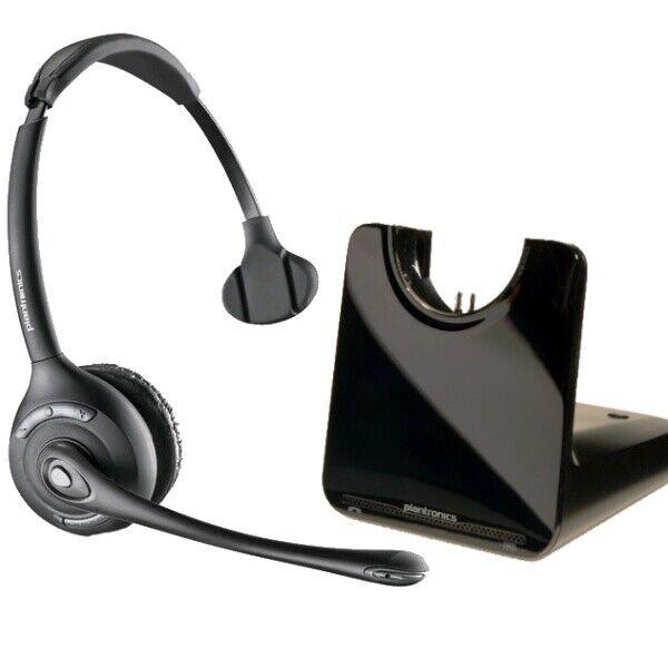 Plantronics Savi Cs510 Mono Headband Wireless Desk Telephone Headset For Sale Online Ebay