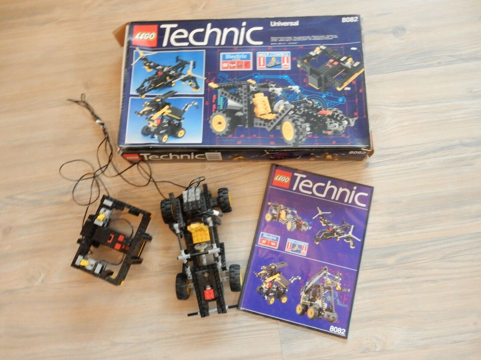 Lego Technic Nr 8082 8082 8082 In Ovp Incl Bauanleitung Und