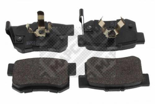 MAPCO Bremsbelagsatz Scheibenbremse hinten  Honda Accord VIII CU Accord VIII