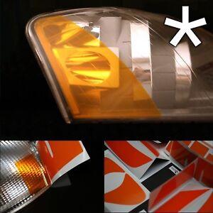 US - Design - Folie für Scheinwerfer Blinker Audi A3 8P rechts/links