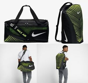 61a8ce43e4 Image is loading nike-vapormax-air-training-duffle-backpack-ba5475-010-