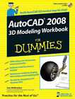 AutoCAD 2008 3D Modeling Workbook For Dummies by Lee Ambrosius (Paperback, 2007)