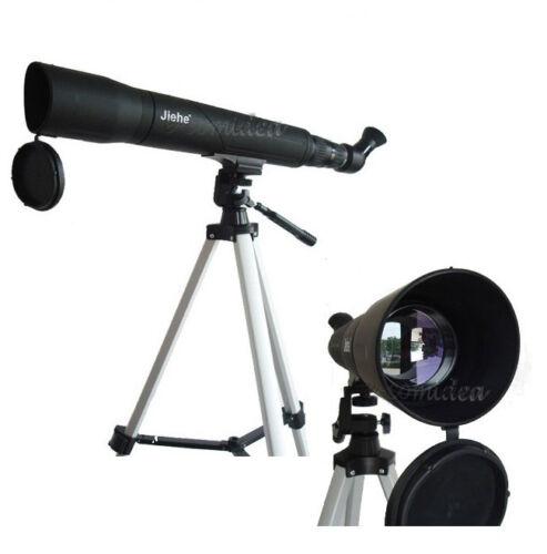 TELESCOPIO CANNOCCHIALE TERRESTRE JIEHE ZOOM 25-75x60 CON TREPPIEDE