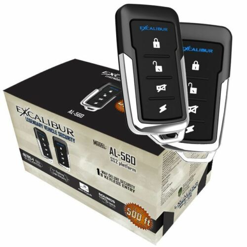 Excalibur AL560 1 Way Keyeless Entry /& Security System