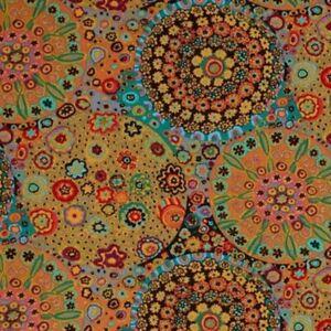 Free-Spirit-Kaffe-Fassett-Millefiore-Cotton-Fabric-PWGP092-Antique-by-the-yard