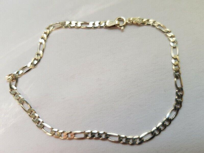 BA449 Sterling Silver Two Link Bracelet