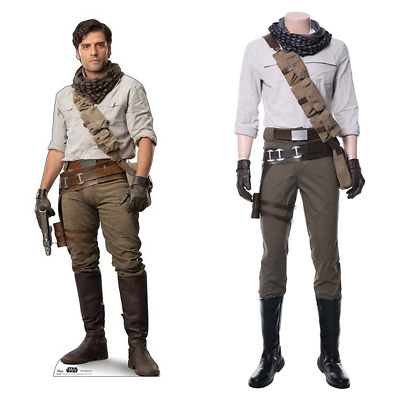 New Star Wars 9 The Rise of Skywalker Poe Dameron Cosplay Halloween Accessory