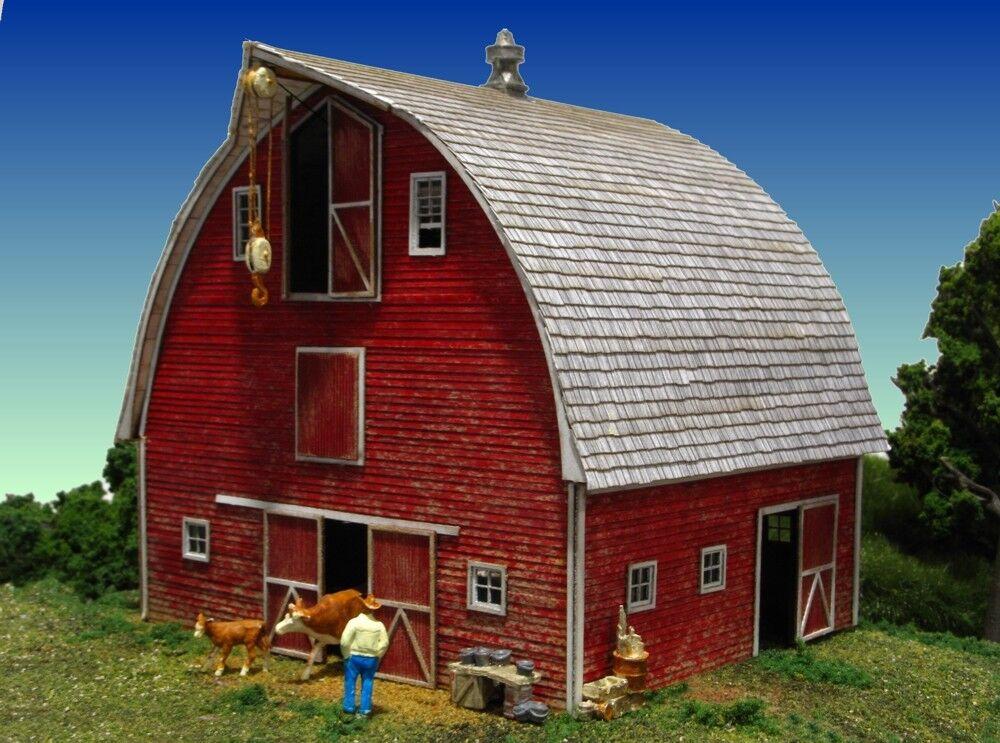 los clientes primero Escala Ho Monroe Modelos Modelos Modelos 'Bob's Barn  Kit de corte láser de artículo  2211  grandes precios de descuento