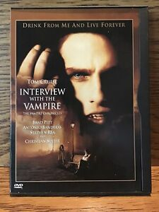 Interview-With-The-Vampire-DVD-Snap-Case-Disc-VG-Tom-Cruise-Brad-Pitt