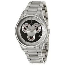 Calvin Klein Men's Watch Basic Analog Display Swiss Quartz Silver K2A27104